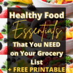 healthy affordable grocery list