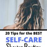 self care shower ideas