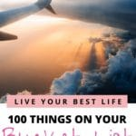 ultimate 20s bucket list