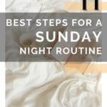 SUNDAY NIGHT TIPS