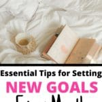 new month new goals