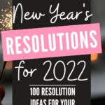 2022 new year resolutions